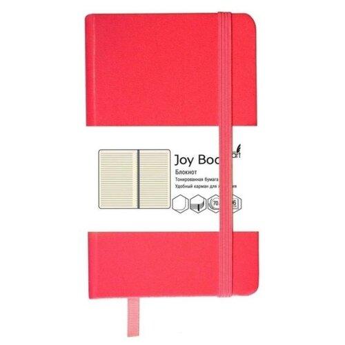 Купить Блокнот Канц-Эксмо Joy Book. Темно-алый А5, 96 листов (БДБЛ5962227), Блокноты