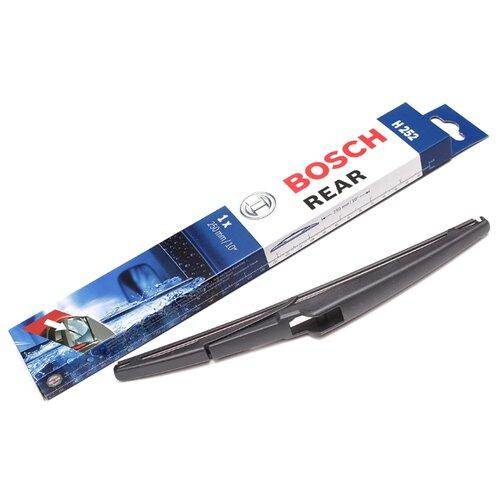 Щетка стеклоочистителя каркасная Bosch Rear H252, 1 шт. щетка стеклоочистителя bosch 551 каркасная длина 50 55 см 2 шт