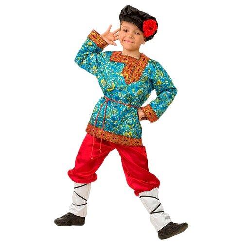 Костюм Батик Иванка сказочный (5200), красный/голубой, размер 128, Карнавальные костюмы  - купить со скидкой