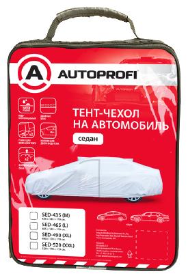 Тент AUTOPROFI SED-465 465x165x119