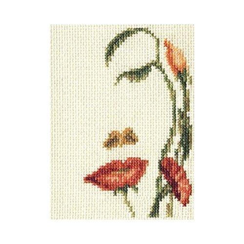 Купить Klart набор для вышивания 6-064 Лицо-цветы , Наборы для вышивания