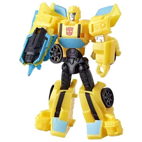 Трансформер Hasbro Transformers Бамблби. Scout Class (Кибервселенная) E1893 желтый transformers игрушкатрансформер кибервселенная 10 см e1883