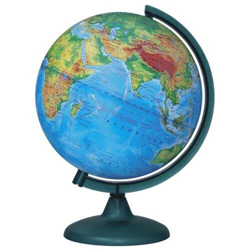Фото - Глобус физический Глобусный мир 250 мм (10160) бирюзовый глобус физический глобусный мир 250 мм 10160 бирюзовый