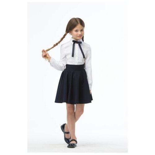 Блузка Смена размер 152/72, белый, Рубашки и блузы  - купить со скидкой