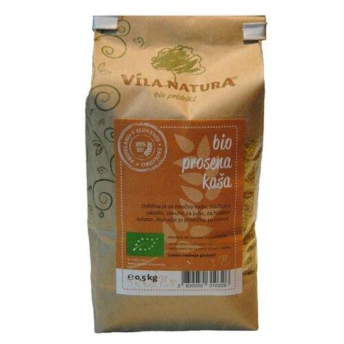 Vila Natura Крупа Пшенная био 500 г крупа гречневая vila natura 1 кг