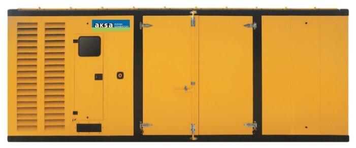 Дизельный генератор Aksa AP 1400 в кожухе с АВР (1012000 Вт)