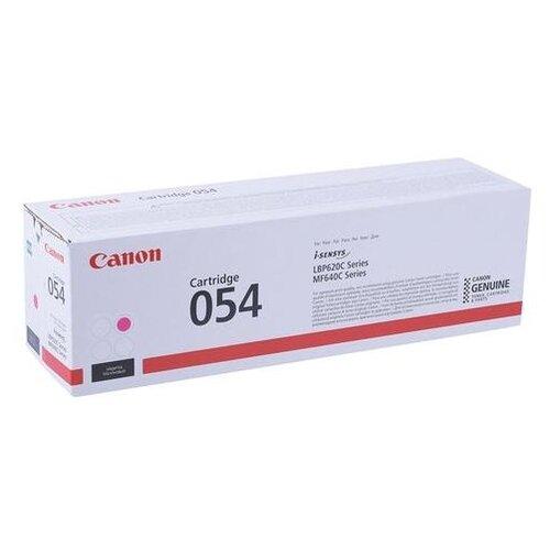 Фото - Картридж лазерный CANON (054M) для i-SENSYS LBP621Cw/MF641Cw/645Cx, пурпурный, ресурс 1200 страниц, оригинальный, 3022C002 картридж лазерный canon 055hm для lbp663 664 mf742 744 746 пурпурный оригинальный ресурс 5900 страниц 3018c002