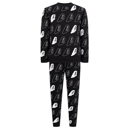 Купить Спортивный костюм Stella McCartney размер 128, черный, Спортивные костюмы