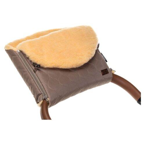 Купить Муфта меховая для коляски Nuovita Polare Pesco (Cappuccino/Капучино), Аксессуары для колясок и автокресел