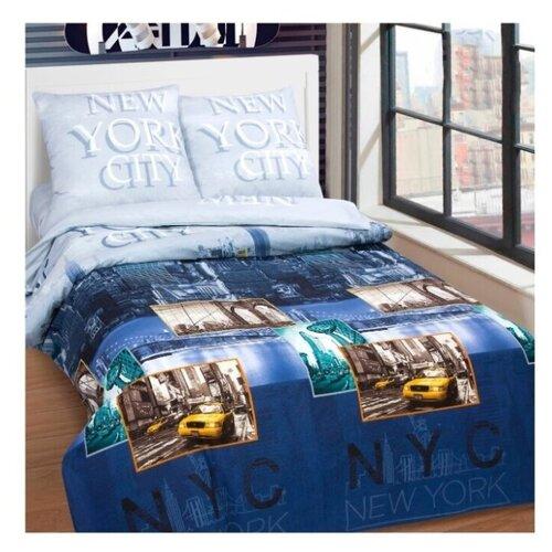 постельное белье luxe dream elite розово кремовый светло серебряный евро стандарт Постельное белье/Нью-Йорк (Поплин-De Luxe)/АртПостель/Евро