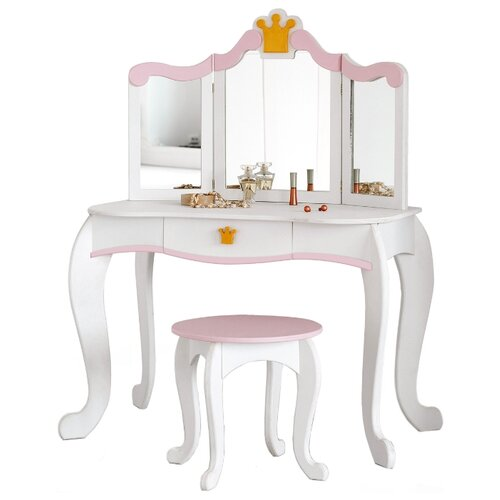 Купить Туалетный столик SunnyWoods для девочек Принцесса Аврора (Avrora13121), Играем в салон красоты