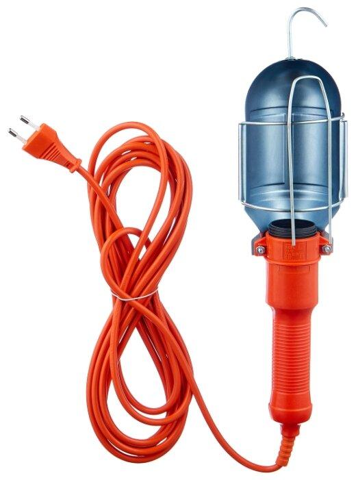 Переносной светильник IEK УП-1Р, 60 Вт, шнур 5 м