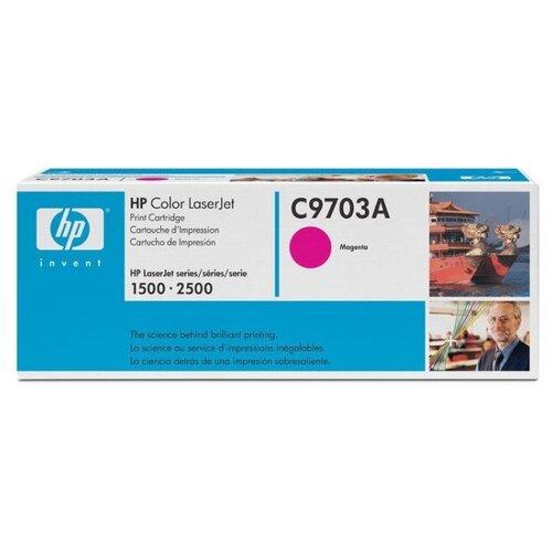 Фото - Картридж ориг. HP C9703A пурпурный для Color LJ 1500/2500 (4000стр), цена за штуку, 107170 картридж ориг hp c9722a желтый для color lj 4600 4650 8стр цена за штуку 83733