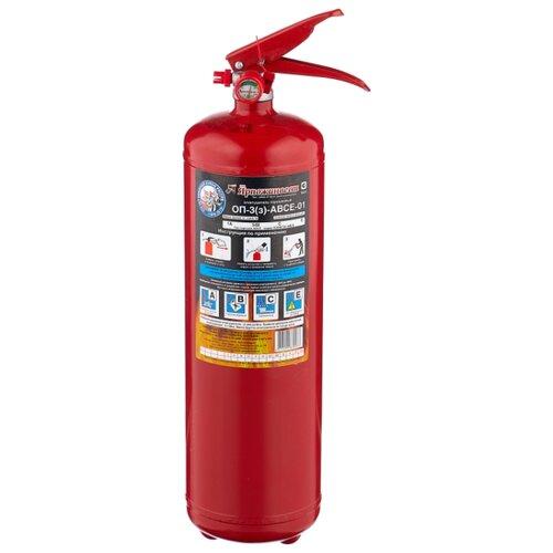 цена на порошковый огнетушитель Ярпожинвест ОП-3(з)