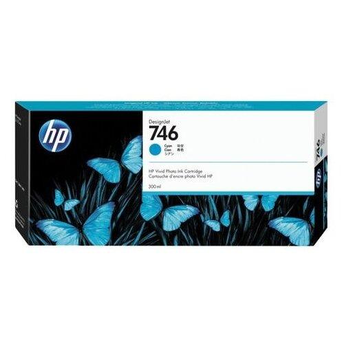 Фото - Картридж струйный для плоттера HP (P2V80A) DesignJet Z6, Z9+, 300 мл, голубой, оригинальный принтер hp designjet z6 44 in