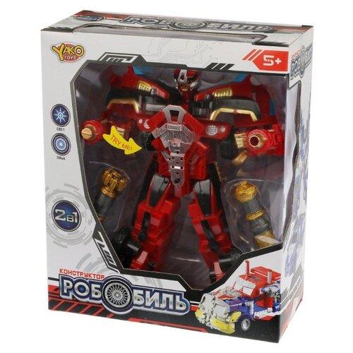 Трансформер Yako Робобиль M7411-6 красный, Роботы и трансформеры  - купить со скидкой