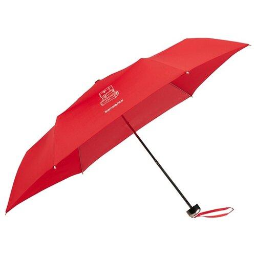 Зонт механика Samsonite Karissa Umbrellas (6 спиц, маленькая ручка) красныйЗонты<br>