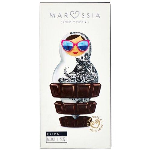 Шоколад MARSSIA Extra Горький, 77% какао, 100 г