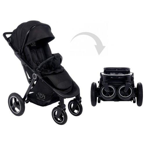 Прогулочная коляска SWEET BABY Suburban Compatto Air black прогулочная коляска sweet baby suburban compatto black