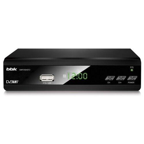 Фото - Цифровой ресивер BBK SMP250HDT2 чёрный цифровой конвертер tp link tl fc111b 20