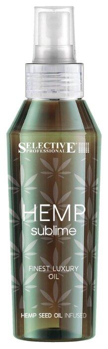 Selective Professional Hemp Sublime Восстанавливающий эликсир для всех типов волос с маслом конопли
