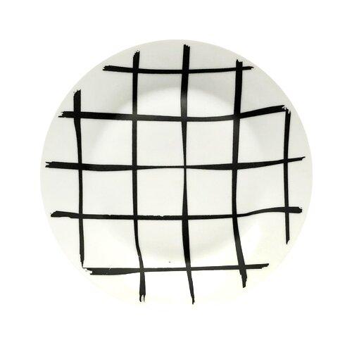 Фото - Сотвори Чудо Тарелка Клетка 20 см белый/черный тарелка сотвори чудо линия 20 см белый