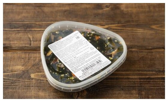 ВкусВилл салат из морских водорослей с шиитаке