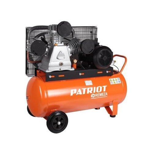 Компрессор масляный PATRIOT REMEZA СБ 4/С- 100 LB 75, 100 л, 5.5 кВт компрессор масляный patriot remeza сб 4 с 200 lb 40 200 л 3 квт