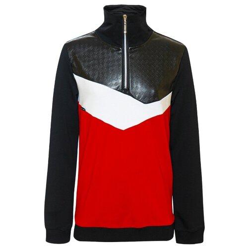 Купить Олимпийка Nota Bene размер 134, красный, Толстовки