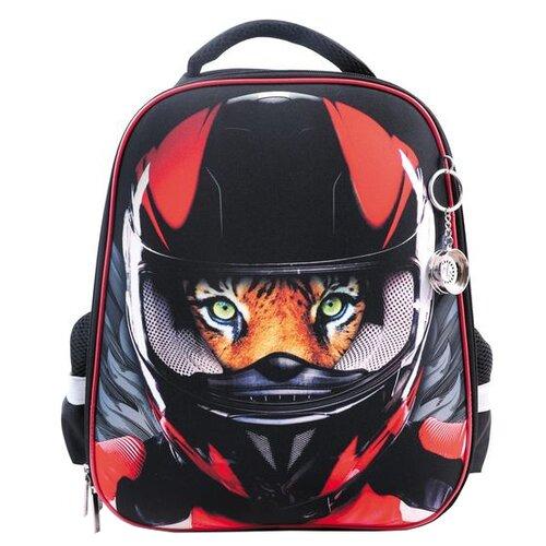 Купить Hatber Рюкзак Ergonomic Moto-beast (NRk_30051) черный/красный, Рюкзаки, ранцы