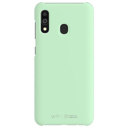 Чехол Wits Premium Hard Case (GP-FPA305WSB) для Samsung Galaxy A30 SM-A305F мятный смартфон samsung galaxy a30 2019 sm a305f 64gb синий