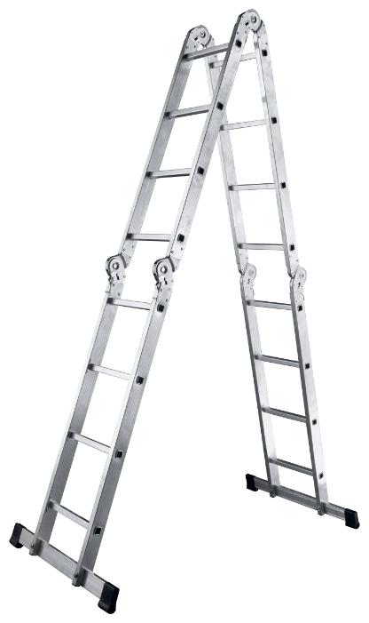 Лестница трансформер 4-секционная ALUMET ТL4033 — купить по выгодной цене на Яндекс.Маркете