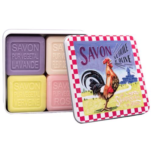 Купить Набор кускового мыла La Savonnerie de Nyons Le Coq, 100 г, 4 шт.