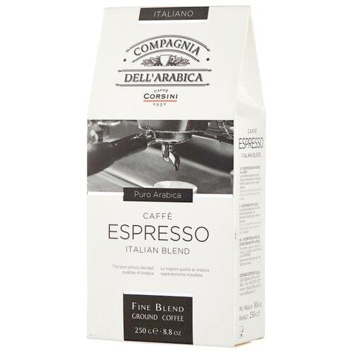 Фото - Кофе молотый Compagnia Dell` Arabica Espresso, 250 г кофе молотый compagnia dell arabica brasil santos 125 г