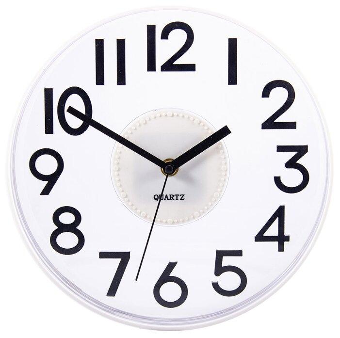 Часы настенные кварцевые Русские подарки 60643/60644