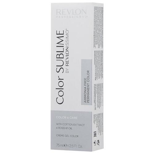 Revlon Professional Revlonissimo Color Sublime стойкая краска для волос, 75 мл, 4 коричневый revlon professional официальный сайт краска для волос