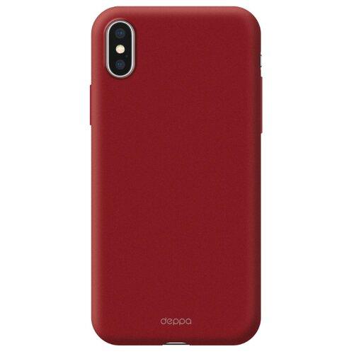 Фото - Чехол-накладка Deppa Air Case для Apple iPhone Xs Max красный чехол deppa air case для apple iphone x xs синий