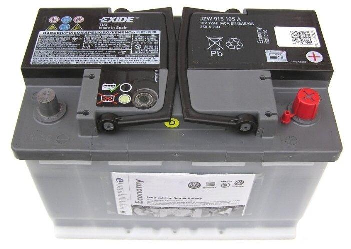 Автомобильный аккумулятор VOLKSWAGEN Economy JZW915105A