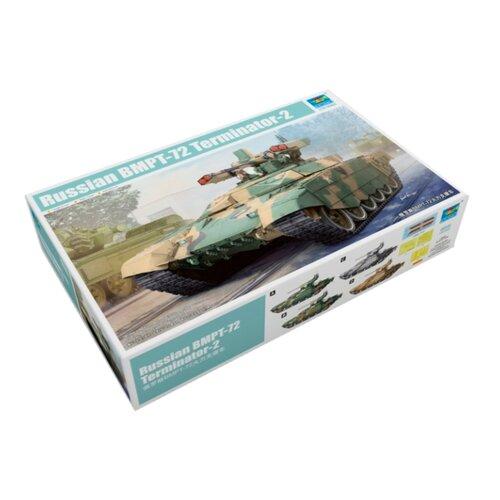 Сборная модель Trumpeter Russian BMPT-72 Terminator-2 (09515) 1:35 realts trumpeter 01034 1 35 russian kamaz 4310 truck