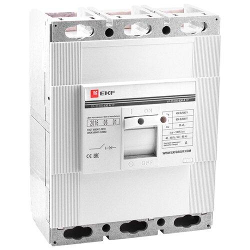 Автоматический выключатель EKF ВА-99/800 3P (термомагнитный) 35kA 630 А