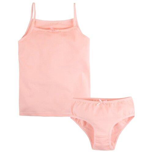 Комплект нижнего белья Bossa Nova размер 86-92, персиковый джемпер детский bossa nova цвет розовый 207б 181 размер 86 92