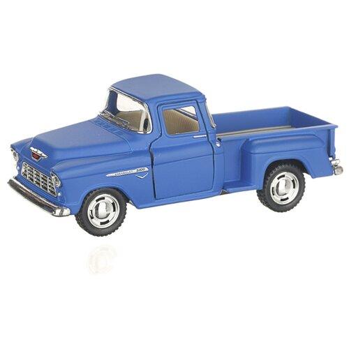 Детская инерционная металлическая машинка с открывающимися дверями, модель Chevrolet Nomad hardtop матовый, синий, Serinity Toys, Машинки и техника  - купить со скидкой