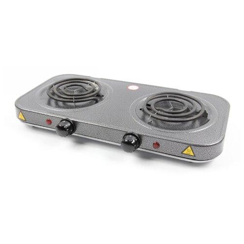 Электрическая плита LUMME LU-3620 серебряный жемчуг