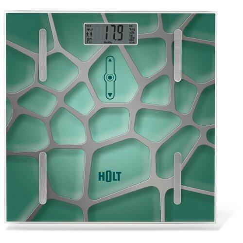 Весы напольные электронные / Платформенные весы / Бытовые напольные весы Holt HT-BS-011 зеленые