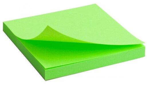 Axent Блок бумаги с клейким слоем 7.5 x 7.5 см неон (2414-12/2414-13/2414-15)
