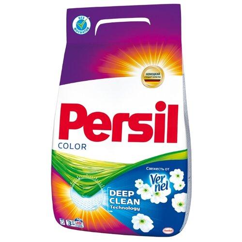 цена на Стиральный порошок Persil Color Свежесть от Vernel 3 кг пластиковый пакет