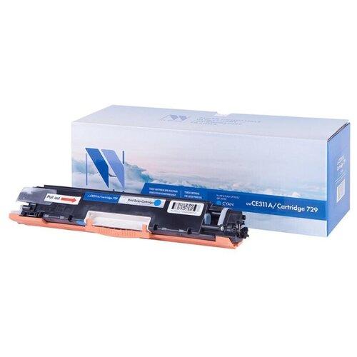 Фото - Картридж совм. NV Print CE311A (№126A)/Canon729 голубой для HP Color LJ CP1025/Pro100 M175 (1000стр), цена за штуку, 161702 картридж nv print ce741a голубой для hp color lj cp5220