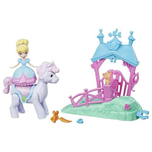 Фигурки Hasbro Disney Princess Magic Movers Золушка и пони hasbro disney princess e4020 e4158 кукла золушка