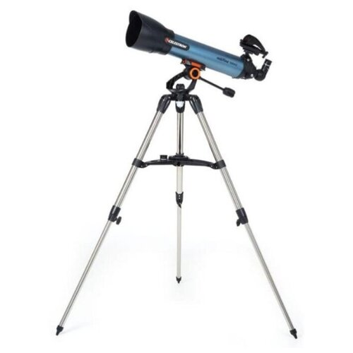 Фото - Телескоп Celestron Inspire 100AZ синий gps модуль celestron skysync