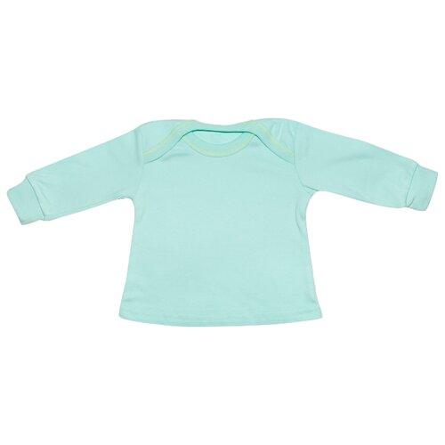 Купить Лонгслив Клякса размер 26-86, зеленый, Футболки и рубашки